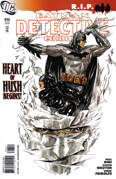 Cover for Detective Comics (DC, 1937 series) #846