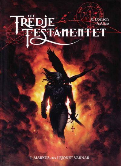Cover for Det tredje testamentet (Albumförlaget Jonas Anderson, 2008 series) #1 - Markus eller Lejonet vaknar