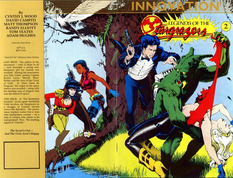 Cover for Legends of the Stargrazers (Innovation, 1989 series) #2