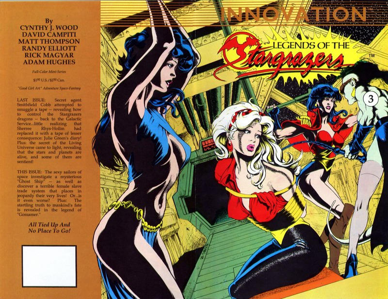 Cover for Legends of the Stargrazers (Innovation, 1989 series) #3