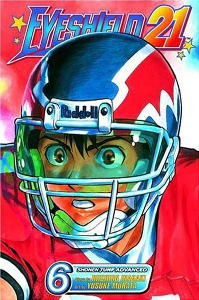 Cover for Eyeshield 21 (Viz, 2005 series) #6