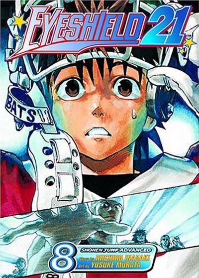 Cover for Eyeshield 21 (Viz, 2005 series) #8