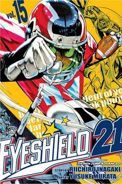 Cover for Eyeshield 21 (Viz, 2005 series) #15