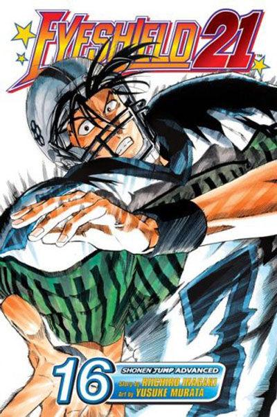 Cover for Eyeshield 21 (Viz, 2005 series) #16
