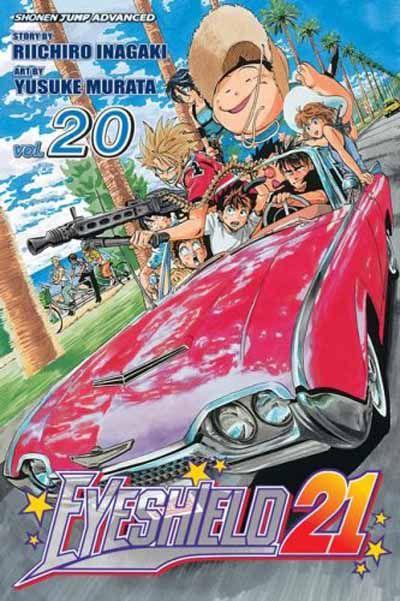 Cover for Eyeshield 21 (Viz, 2005 series) #20