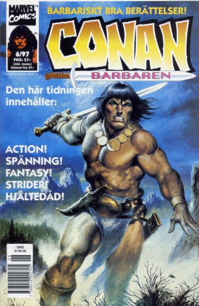 Cover for Conan (Semic, 1990 series) #6/1997