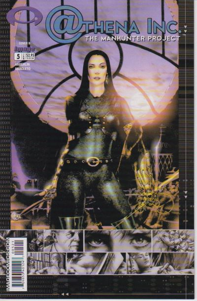 Cover for Athena Inc. The Manhunter Project (Image, 2002 series) #5 [Cover A]