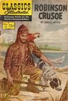 Cover for Classics Illustrated (Gilberton, 1947 series) #10 [HRN 140] - Robinson Crusoe [New Interior Art]