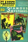 Cover Thumbnail for Classics Illustrated (1947 series) #21 [HRN 62] - 3 Famous Mysteries