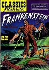 Cover for Classics Illustrated (Gilberton, 1947 series) #26 [HRN 60] - Frankenstein