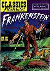 Cover for Classics Illustrated (Gilberton, 1947 series) #26 [HRN 60] - Frankenstein
