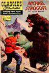 Cover for Classics Illustrated (Gilberton, 1947 series) #28 [HRN 115] - Michael Strogoff [First Painted Cover]