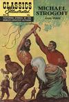 Cover for Classics Illustrated (Gilberton, 1947 series) #28 [HRN 169] - Michael Strogoff [Second Painted Cover]