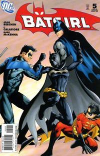 Cover Thumbnail for Batgirl (DC, 2008 series) #5