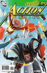 Cover Thumbnail for Action Comics (DC, 1938 series) #871 [Direct Sales]