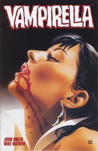 Cover for Vampirella (Harris Comics, 2001 series) #5 [Mike Mayhew Cover]