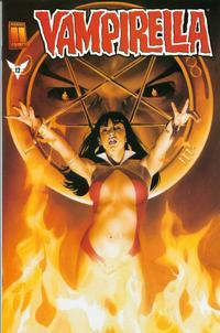 Cover Thumbnail for Vampirella (Harris Comics, 2001 series) #12 [Mike Mayhew Cover]