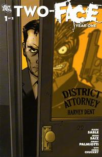 Cover Thumbnail for Two-Face: Year One (DC, 2008 series) #1