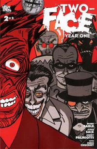 Cover Thumbnail for Two-Face: Year One (DC, 2008 series) #2