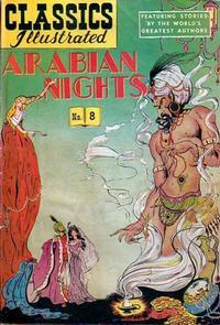 Cover Thumbnail for Classics Illustrated (Gilberton, 1947 series) #8 [HRN 51] - Arabian Nights