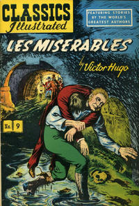 Cover Thumbnail for Classics Illustrated (Gilberton, 1947 series) #9 [HRN 51] - Les Miserables