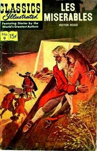 Cover Thumbnail for Classics Illustrated (Gilberton, 1947 series) #9 [HRN 161] - Les Miserables