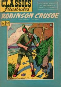 Cover Thumbnail for Classics Illustrated (Gilberton, 1947 series) #10 [HRN 51] - Robinson Crusoe