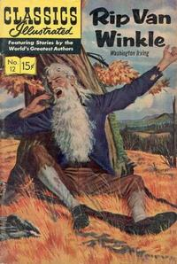 Cover Thumbnail for Classics Illustrated (Gilberton, 1947 series) #12 [HRN 150] - Rip Van Winkle