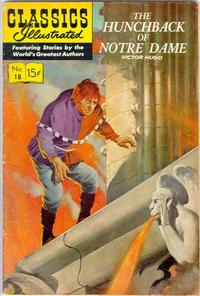 Cover Thumbnail for Classics Illustrated (Gilberton, 1947 series) #18 [HRN 158] - The Hunchback of Notre Dame [2nd Painted Cover-New Art]