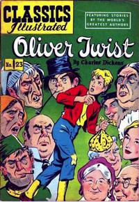 Cover Thumbnail for Classics Illustrated (Gilberton, 1947 series) #23 [HRN 60] - Oliver Twist