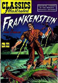 Cover Thumbnail for Classics Illustrated (Gilberton, 1947 series) #26 [HRN 60] - Frankenstein