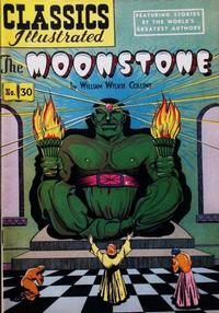 Cover Thumbnail for Classics Illustrated (Gilberton, 1947 series) #30 [HRN 60] - The Moonstone