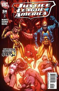Cover Thumbnail for Justice League of America (DC, 2006 series) #24