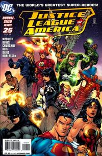 Cover Thumbnail for Justice League of America (DC, 2006 series) #25
