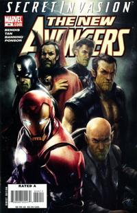 Cover Thumbnail for New Avengers (Marvel, 2005 series) #44