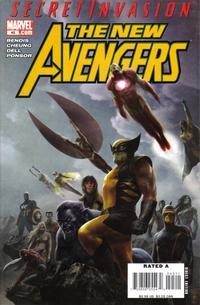 Cover Thumbnail for New Avengers (Marvel, 2005 series) #45