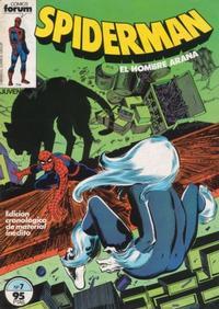 Cover for Spiderman (Planeta DeAgostini, 1983 series) #7