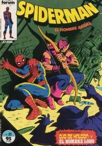 Cover Thumbnail for Spiderman (Planeta DeAgostini, 1983 series) #21