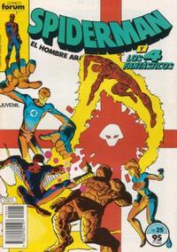 Cover Thumbnail for Spiderman (Planeta DeAgostini, 1983 series) #25