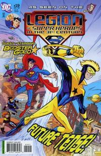 Cover Thumbnail for The Legion of Super-Heroes in the 31st Century (DC, 2007 series) #19 [Direct Sales]