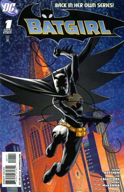 Cover for Batgirl (DC, 2008 series) #1