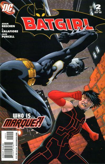 Cover for Batgirl (DC, 2008 series) #2