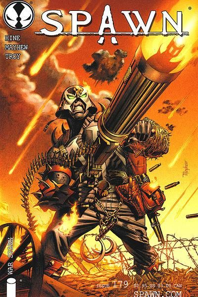 Cover for Spawn (Image, 1992 series) #179