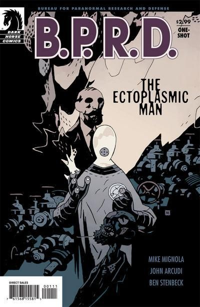 Cover for B.P.R.D.: The Ectoplasmic Man (Dark Horse, 2008 series) #[nn]