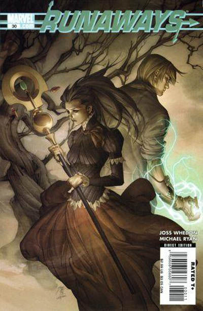 Cover for Runaways (Marvel, 2005 series) #30