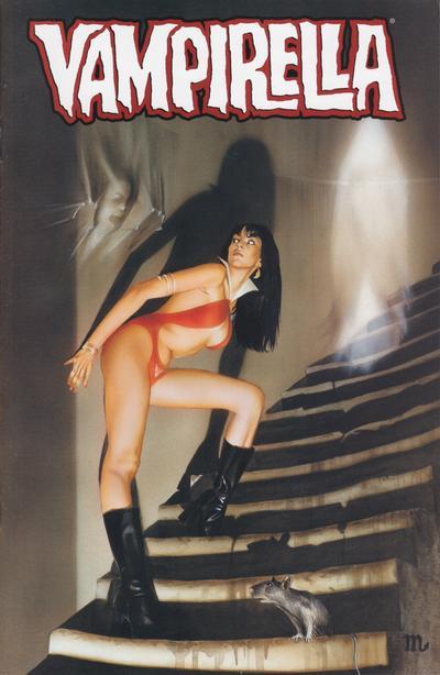 Cover for Vampirella (Harris Comics, 2001 series) #9 [Pantha Cover]