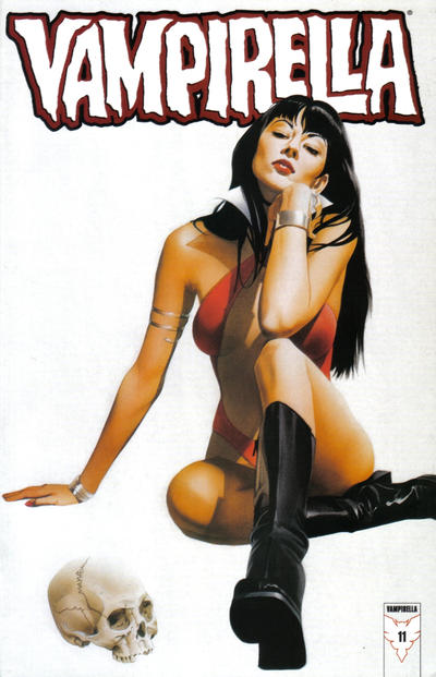Cover for Vampirella (Harris Comics, 2001 series) #11 [Joe Chiodo Cover]