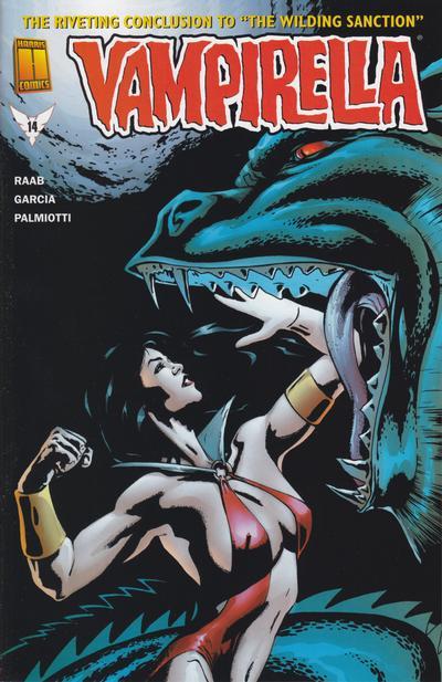 Cover for Vampirella (Harris Comics, 2001 series) #14 [John McCrea Cover]