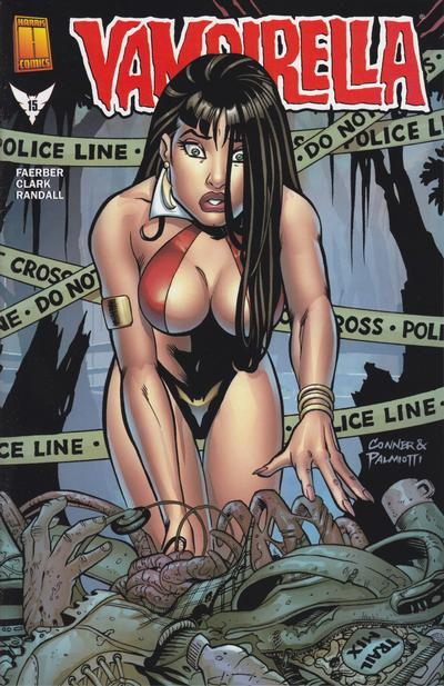 Cover for Vampirella (Harris Comics, 2001 series) #15 [Tony Harris Cover]