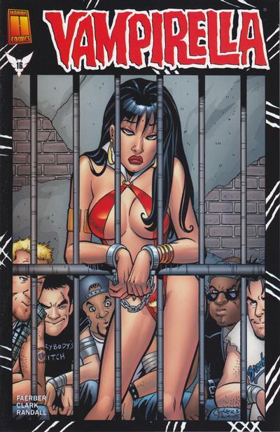 Cover for Vampirella (Harris Comics, 2001 series) #16 [Limited Edition Model Photo Cover]